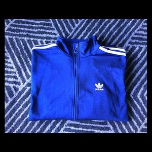 ADIDAS *Vintage*  Royal Blue Track Jacket